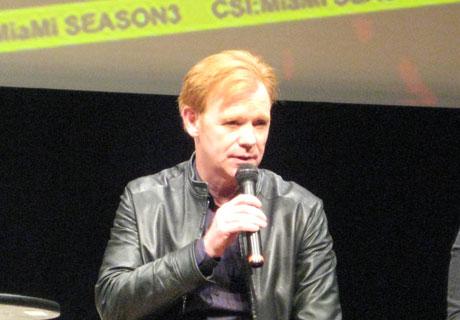 初来日を果たした「CSI:マイアミ」ホレイショ捜査官役デヴィッド・カルーソ