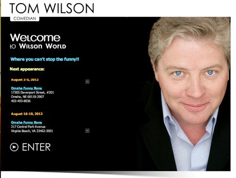 トム・ウィルソンの公式サイト