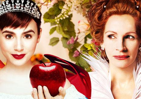 「白雪姫と鏡の女王」でバトルを繰り広げたジュリア・ロバーツとリリー・コリンズのインタビュー動画が到着! ジュリアが役作りの参考にしたのは誰?