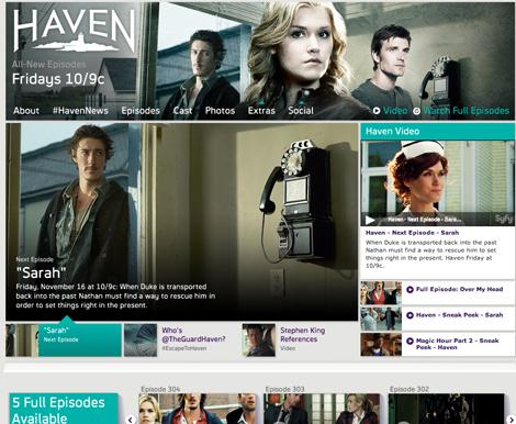 「ヘイヴン」米公式サイト
