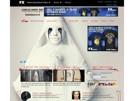 「アメリカン・ホラー・ストーリー」米公式サイト