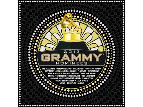 2013年グラミー賞ノミネート歌手のヒット曲ばかりを収録した超 ...