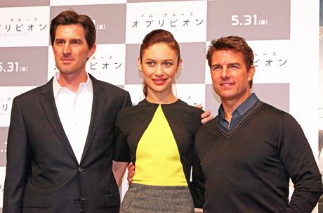 映画「オブリビオン」トム・クルーズが19回目の来日! 「美しい日本で映画を撮りたい」