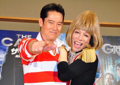 山下真司(左)とKABA.ちゃん