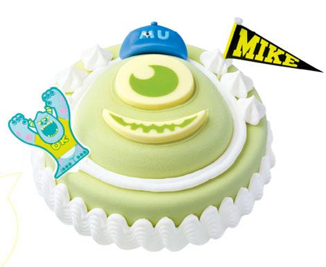"""サーティーワンが「モンスターズ・ユニバーシティ」とコラボ! かわいすぎる""""マイク""""ケーキ発売へ"""