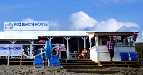 2012年FOX BEACH HOUSEの様子