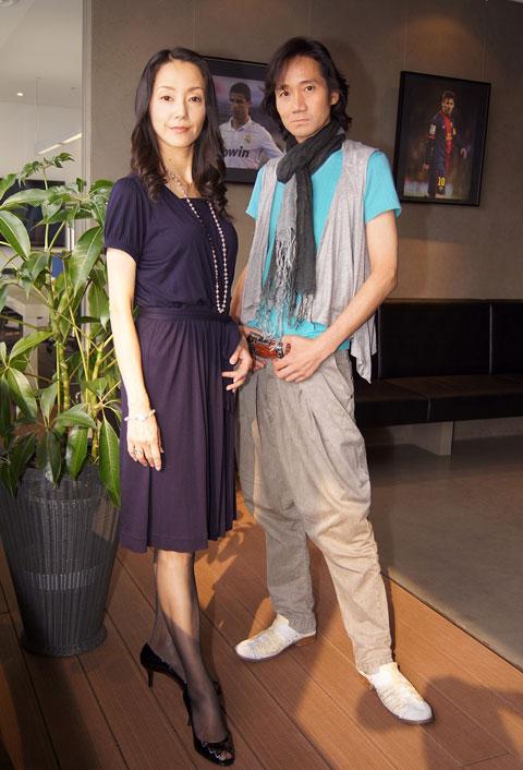 田中敦子(左)、三木眞一郎