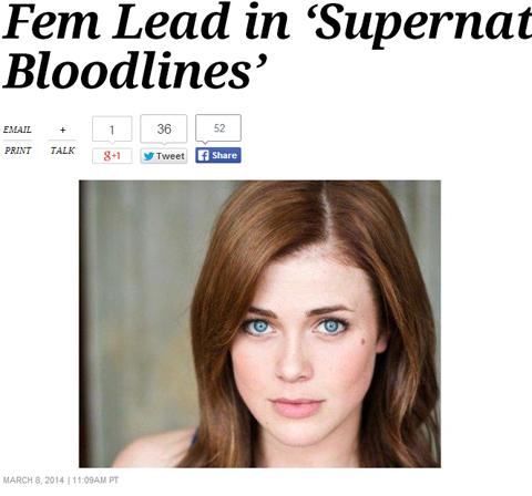 人気海外ドラマ「スーパーナチュラル」スピンオフの女性主人公が決定! タイトルも変更に