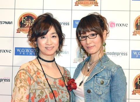 「恋するインターン」のボイスキャスト 山像かおりさん(左)、高森奈緒さん