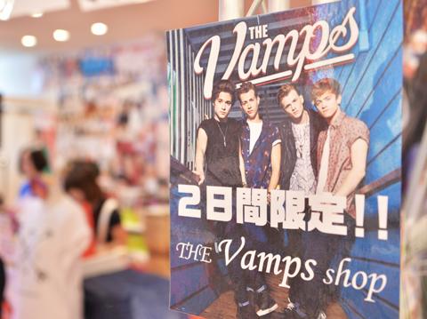 THE VAMPS SHOPオープン