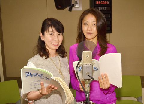 三石琴乃(左)、沢海陽子