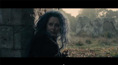 世にも恐ろしい魔女を演じる、メリル・ストリープ