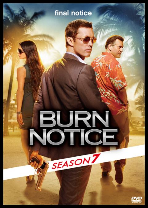 「バーン・ノーティス 元スパイの逆襲」ファイナルシーズン ジャケット写真