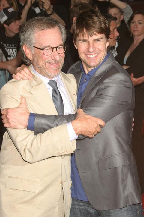 スティーヴン・スピルバーグ監督と、トム・クルーズ