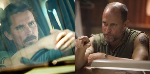 映画「ファーナス/訣別の朝」より クリスチャン・ベイル(左)、ウディ・ハレルソン