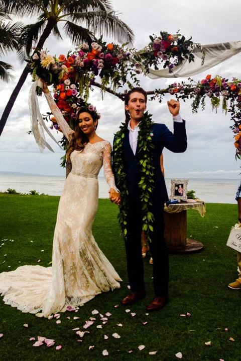 「glee」マシュー・モリソンが結婚式の写真をツイッターで公開! 「僕の妻レネー・モリソンを紹介するよ」