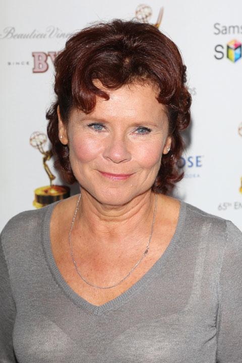 映画シリーズでアンブリッジ役を演じた、イメルダ・スタウントン