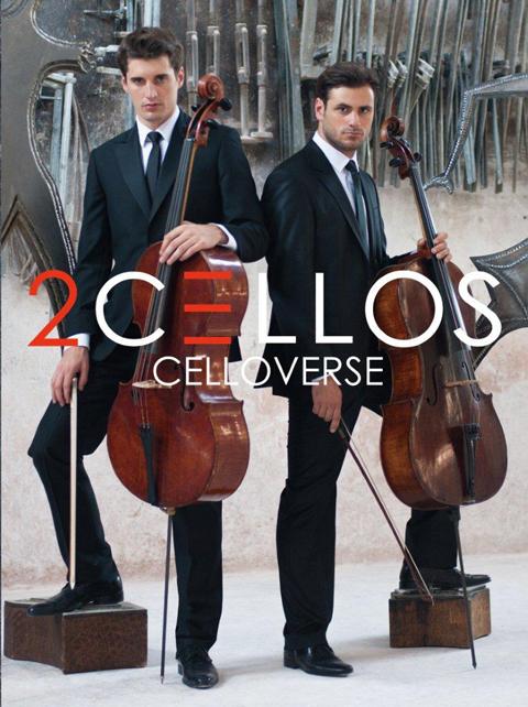 2CELLOS最新アルバム「チェロヴァース|CELLOVERSE」
