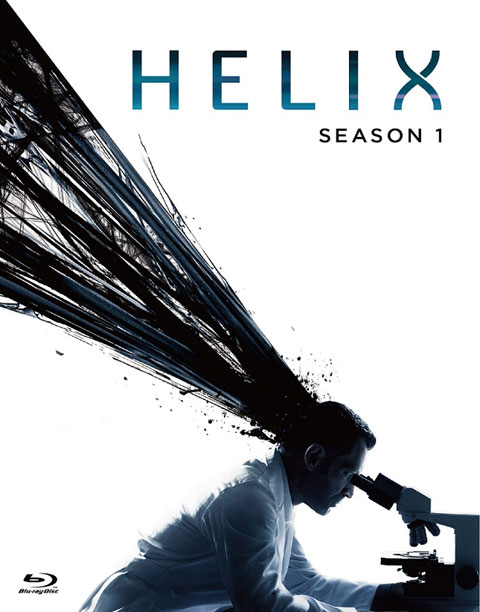 海外ドラマ「HELIX -黒い遺伝子-」ジャケット写真