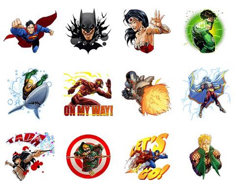 DCコミックスのヒーロー部隊「Justice League」のLINEスタンプが配信開始! スーパーマン、バットマンら人気ヒーローが集結