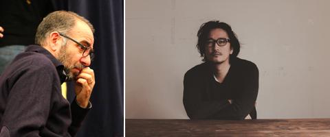 ジュゼッペ・トルナトーレ監督(左)、紀里谷和明監督
