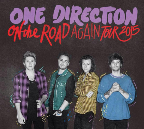 「On The Road Again Tour」最新ポスター
