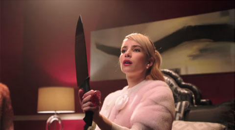 ドラマ「Scream Queens」新ティーザーに、エマ・ロバーツ登場! カワイクてコワイ新ドラマに期待[動画]