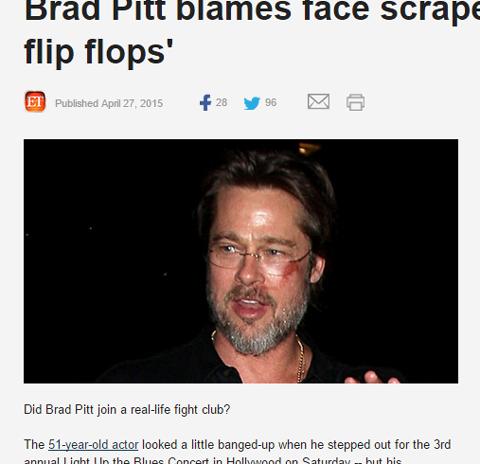 顔に大きな傷ができてしまったブラッド