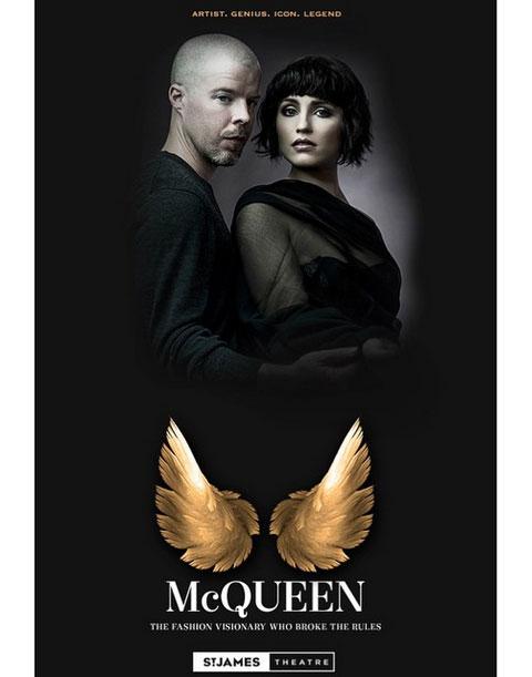 舞台「McQueen」の公演ビジュアル