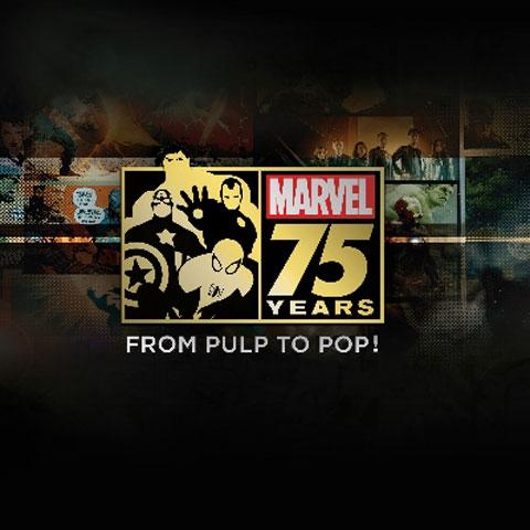 「マーベル 75 年の軌跡 コミックからカルチャーへ!」