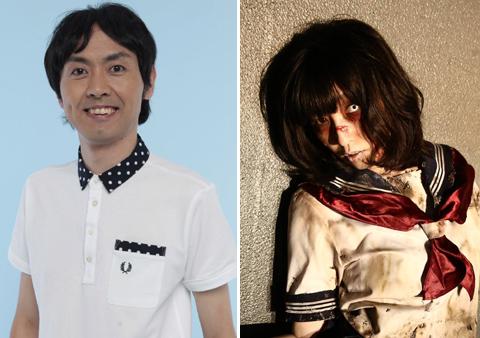 田中卓志(左)、小明