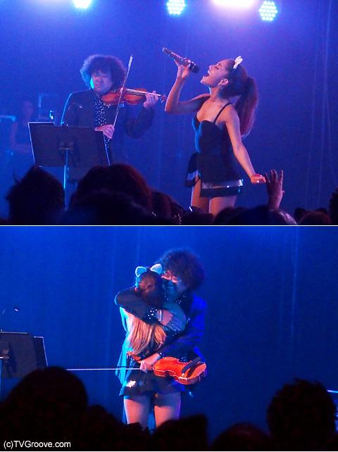 サプライズゲストの葉加瀬太郎と「ベイビー・アイ」を披露 最後はハグで