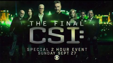 「CSI:科学捜査班」15年の集大成となる、最終回の予告が公開! グリッソムの「帰還」宣言を見逃すな[動画]