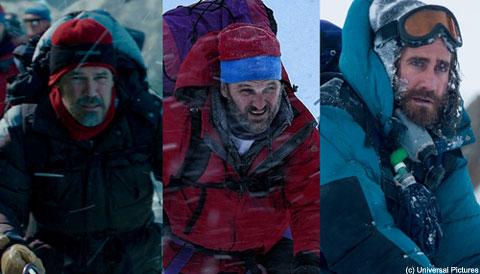 (左から)ジョシュ・ブローリン、ジェイソン・クラーク、ジェイク・ギレンホール