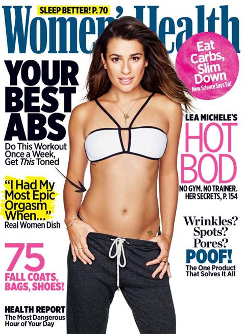 雑誌「Woman's Health」11月号の表紙