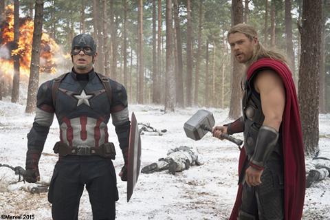 キャプテン・アメリカとソー