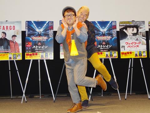 キャイ~ンの天野ひろゆき(左)とウド鈴木(右)