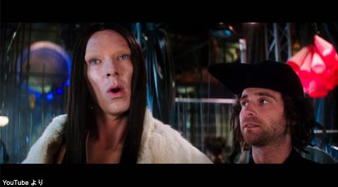 映画「Zoolander 2」でのベネディクト・カンバーバッチ
