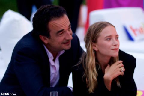 メアリー=ケイト・オルセンと、オリヴィエ・サルコジ