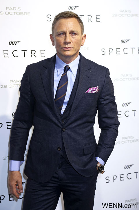 快進撃を続ける「007 スペクター」、プロデューサー側は次回もダニエル・クレイグの出演を熱望