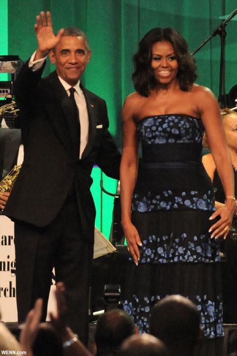 ミシェル&バラク・オバマ大統領夫妻