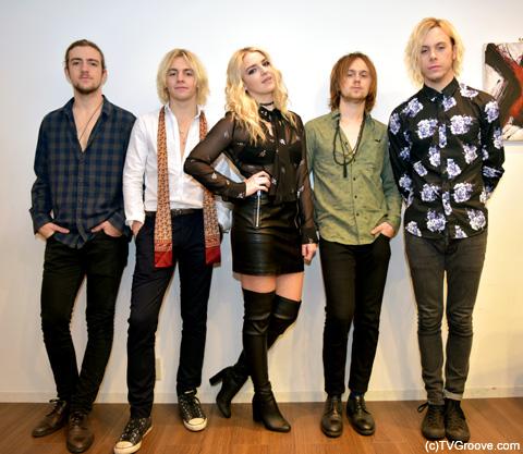 R5(左から:ロッキー、ロス、ライデル、ラトリフ、ライカー) / (c)TVGroove.com