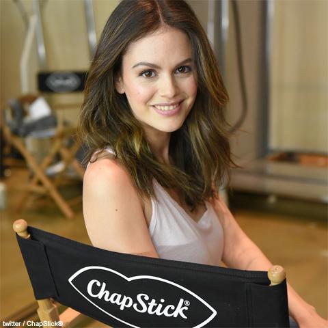 「ChapStick」の広告塔に選ばれたレイチェル・ビルソン