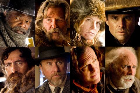 俺たちタランティーノ大学の出身者! 映画「ヘイトフル・エイト」出演の名誉な8人の個性派俳優たち
