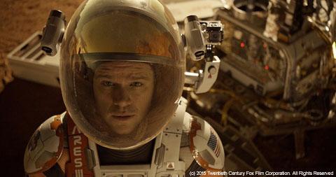 映画「オデッセイ」3週連続No.1を獲得! 「スター・ウォーズ/フォースの覚醒」「ジュラシック・ワールド」に並ぶ