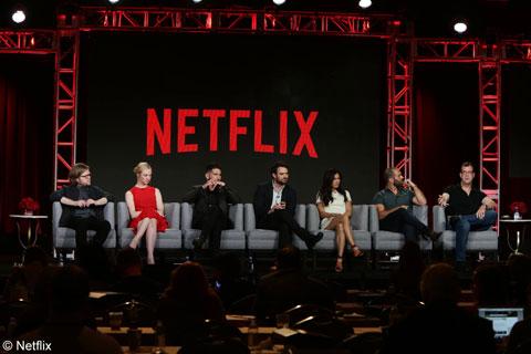 「デアデビル」パネルの様子 © Netflix. All Rights Reserved.