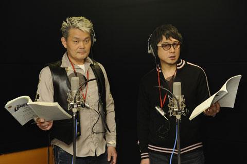 江川央生(左)、東地宏樹