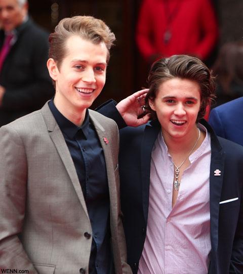 ジェイムズ(左)、ブラッド