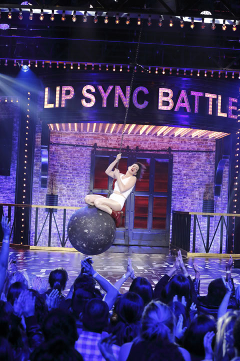 「Lip Sync Battle」※写真はアン・ハサウェイ