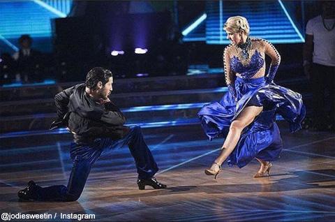 「アメリカン・ダンシングスター」に出演中のジョディ・スウィーティン